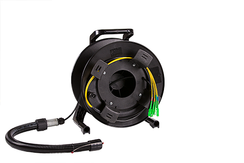 Hand Wound Cable Reel – Plastic
