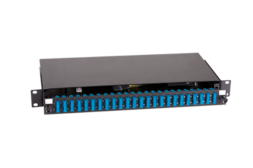 FastFibre 1U 19″ Sliding Patch Panel